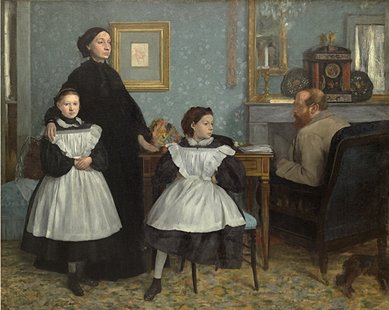 The Bellelli family 1867