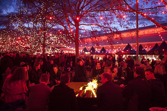 Dark Mofo Winter Feast photograph by Mona and Rémi Chauvin Image Courtesy Mona Museum of Old and New Art Hobart Tasmania Australia