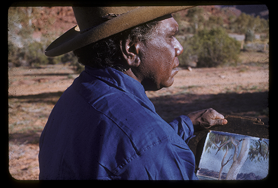 Albert Namatjira Image by Pastor SO Gross Courtesy Strehlow Research Centre
