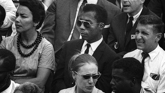 James Baldwin still from I am not your negro