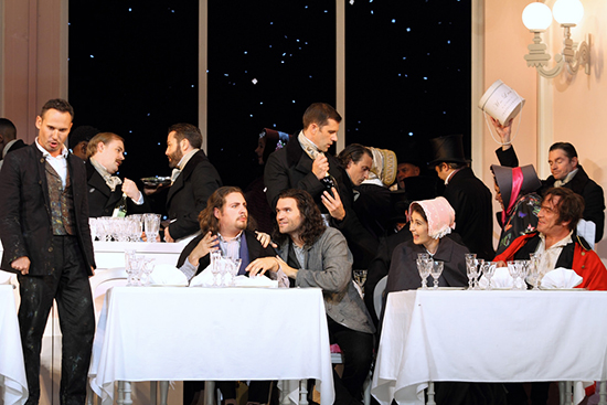 La Boheme ROH The cast of La bohème The Royal Opera Photograph by Catherine Ashmore