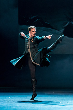 QPAC The Royal Ballet The Winters Tale Edward Watson Leontes 1