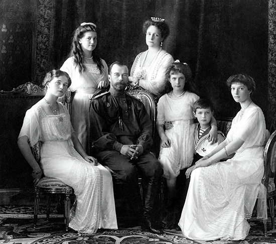 Russian Imperial Family 1913 ABR Arts