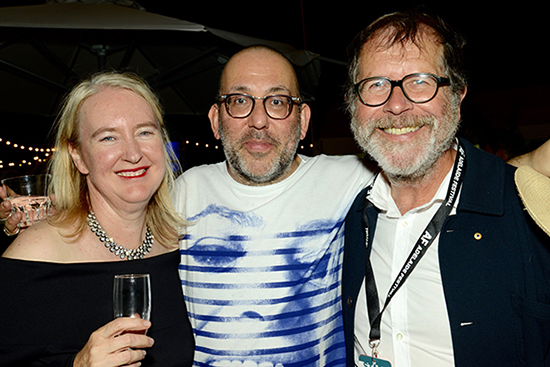 The Update Rachel Healy Barrie Kosky Neil Armfield at the 2017 Adelaide Festival photograph by William Yang