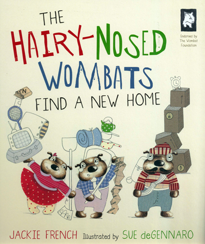 -The Hairy nosed wombats - colour