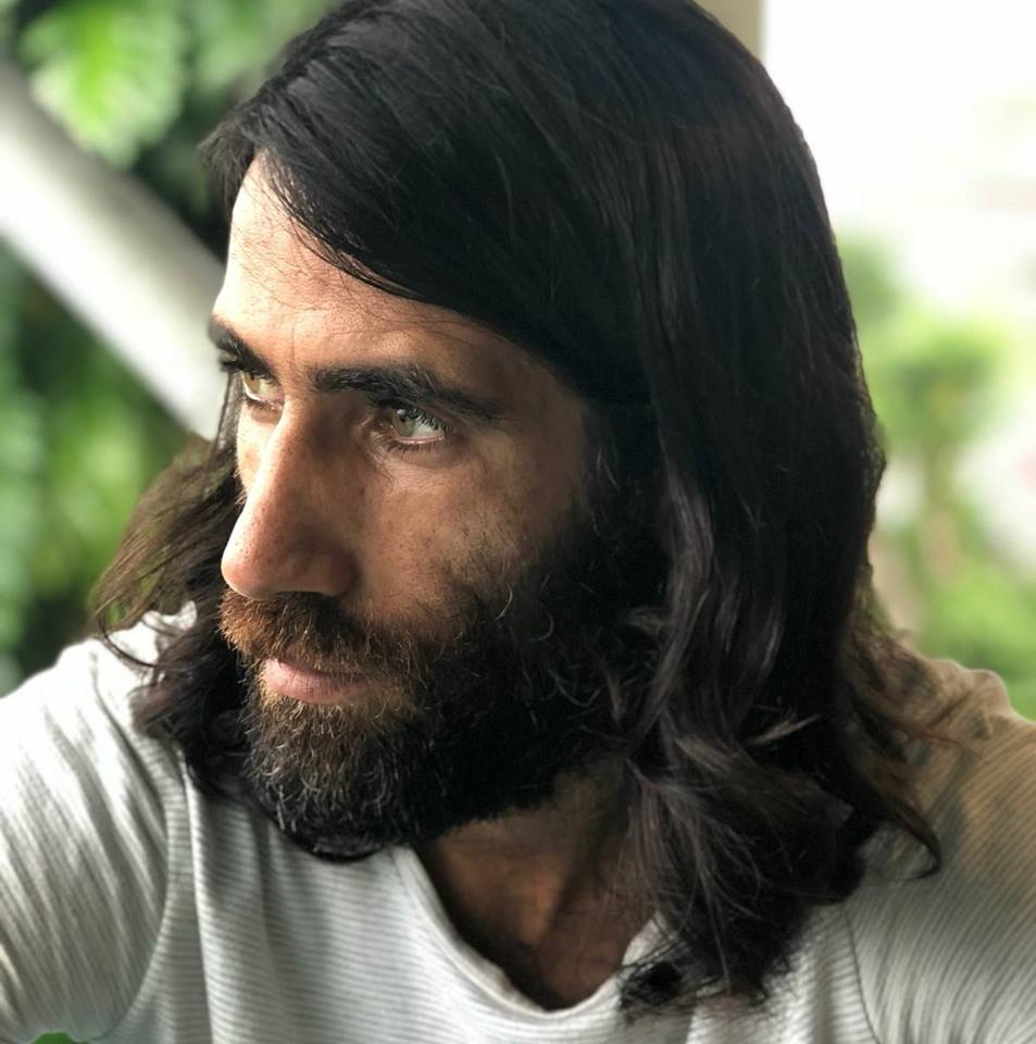 Behrouz Boochani (photo by Hoda Afshar)