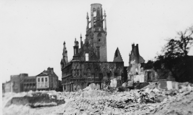 After the bombing May 1940