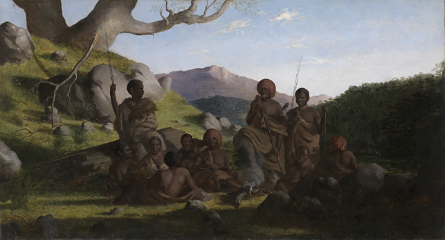 Robert Dowling TasmanianAborigines 1856 57 National Gallery of Victoria