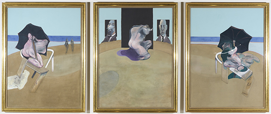Francis Bacon Triptych 550