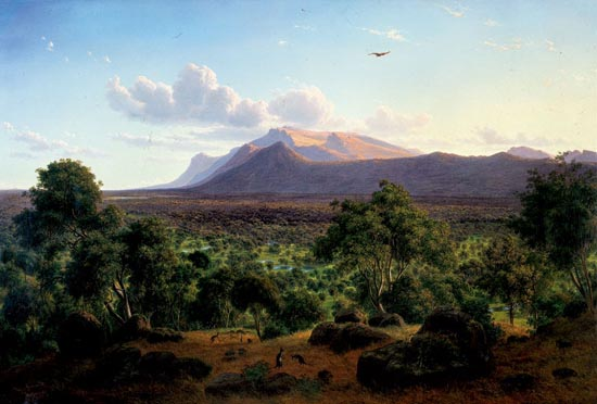 Eugene von Guerard Mount William 1857