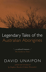 Book Cover Legendary Tales of the Australian Aborigines Paperback 2006 The Miegunyah Press 150