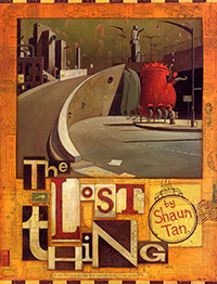 The Lost Thing cover Lothian Hachette 2000 200px