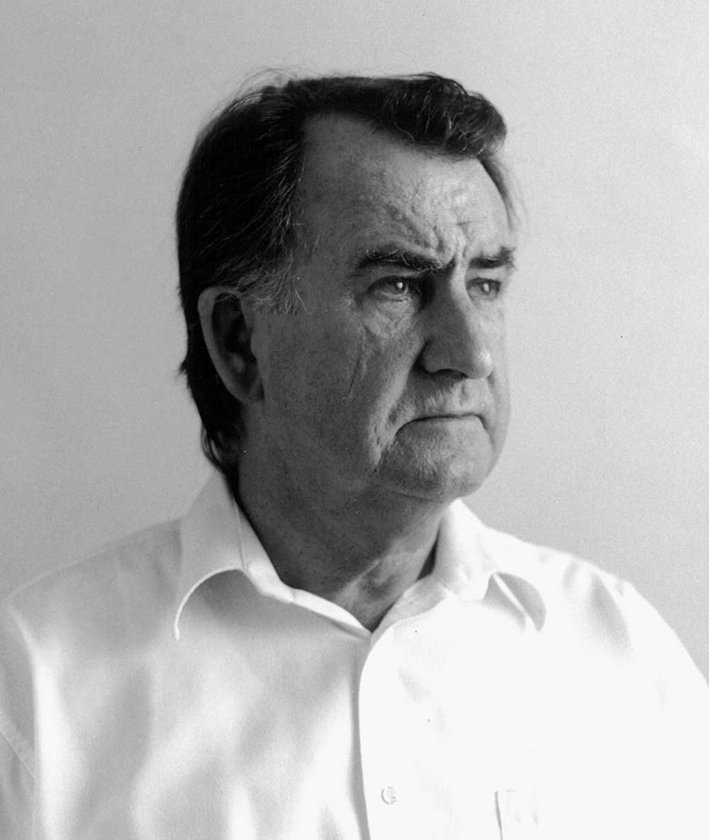 Gerald Murnane (photograph by Ian Hill)