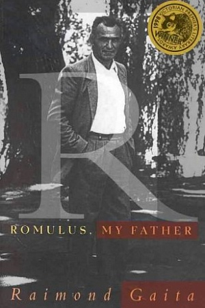 Romulus My Father (1Text Publishing, 1999)