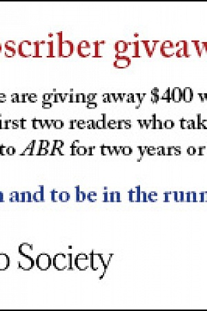 400 issue giveaway ABR Online April 2018