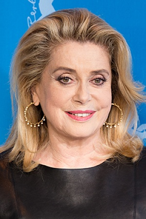 Catherine Deneuve during the Berlinale 2017 Wikimedia Commons
