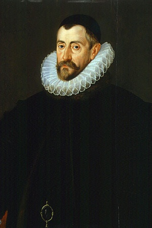 Sir Francis Walsingham by John De Critz the Elder (courtesy of the National Portrait Gallery, London via Wikimedia Commons)