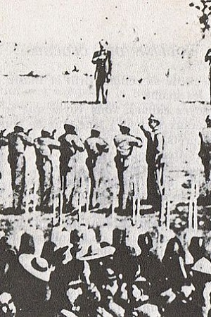 640px Photography of Execution of Maximilian I of Mexico Miramón and Mejía 1867