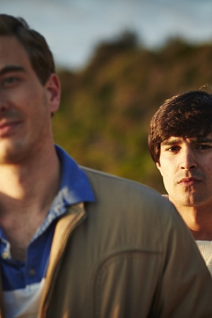 Ryan Corr as Tim Conigrave and Craig Stott as John Caleo in Holding the Man