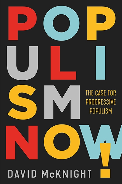 Matteo Bonotti reviews 'Populism Now! The case for progressive populism' by David McKnight