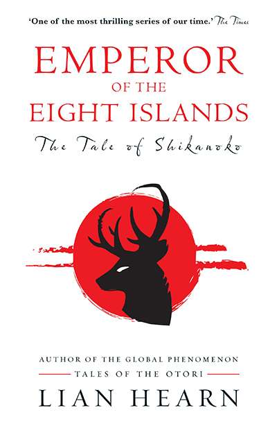 Benjamin Chandler reviews 'The Tale of Shikanoko: Emperor of the eight islands' by Lian Hearn