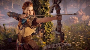 Horizon Zero Dawn (Guerrilla Games/Sony Interactive Entertainment) and The Walking Dead: A new frontier (Telltale Games)