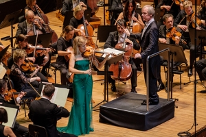 Anne-Sophie Mutter in concert with the Sydney Symphony Orchestra