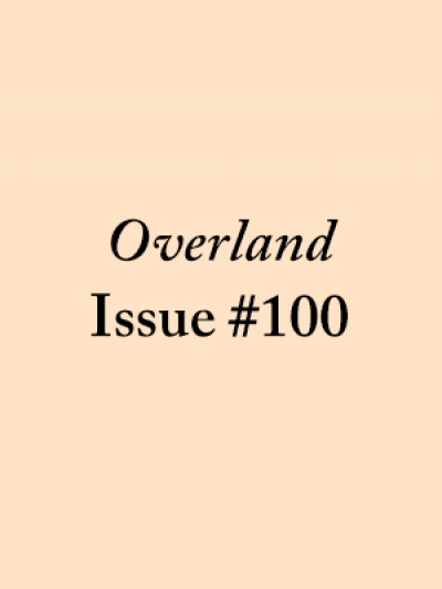John McLaren reviews 'Overland 100', edited by Stephen Murray-Smith