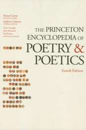 David McCooey reviews 'The Princeton Encyclopedia of Poetry and Poetics, Fourth Edition' by Roland Greene et al.