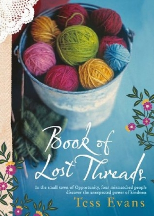 Susan Gorgioski reviews 'Book of Lost Threads' by Tess Evans