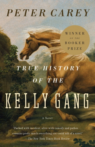 Morag Fraser reviews 'True History of the Kelly Gang ' by Peter Carey