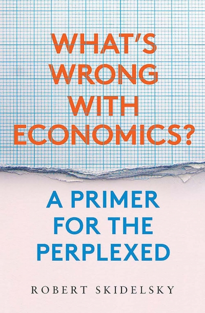 John Tang reviews 'What's Wrong with Economics? A primer for the perplexed' by Robert Skidelsky