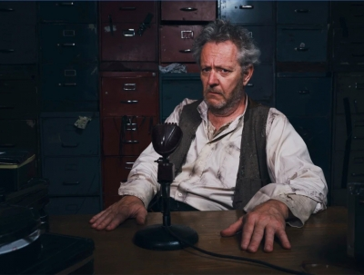 'Krapp's Last Tape' (Red Line Productions/Old Fitz Theatre)