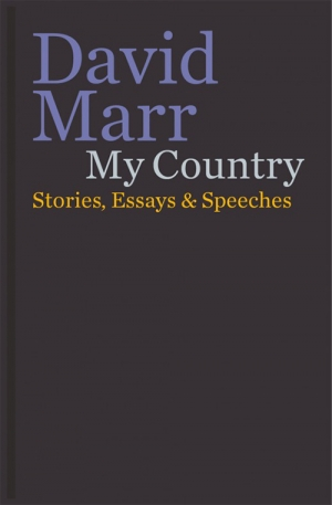 Glyn Davis reviews 'My Country' by David Marr