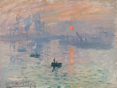 Monet: Impression Sunrise (National Gallery of Australia)