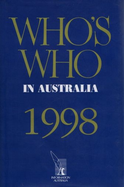 John Arnold reviews 'Who's Who in Australia 1998' researched by Maryanne Neto