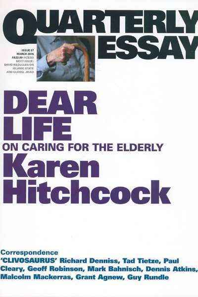 Carol Middleton reviews 'Dear Life' by Karen Hitchcock