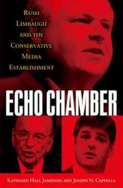 Rod Tiffen reviews 'Echo Chamber: Rush Limbaugh and the conservative media establishment' by Kathleen Hall Jamieson and Joseph N. Cappella and 'Why Democracies Need an Unlovable Press' by Michael Schudson