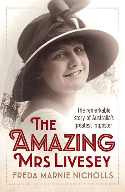 Dina Ross reviews 'The Amazing Mrs. Livesey'  by Freda Marnie Nicholl
