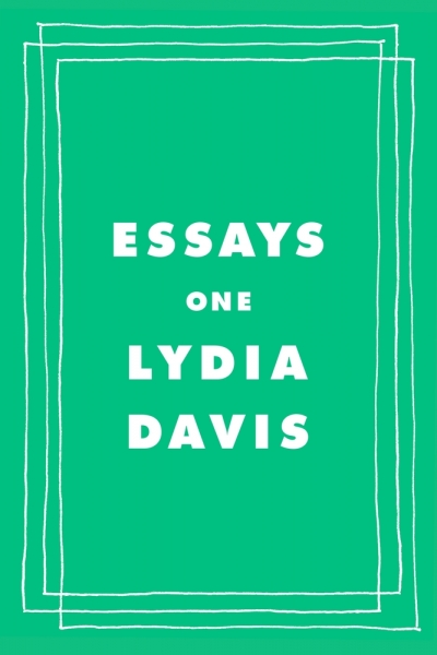 Shannon Burns reviews 'Essays One' by Lydia Davis
