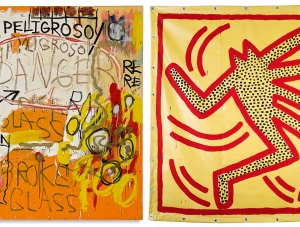 Keith Haring | Jean-Michel Basquiat: Crossing Lines (National Gallery of Victoria)