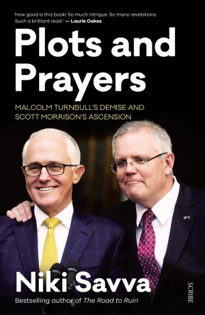 Paul Williams reviews 'Plots And Prayers: Malcolm Turnbull's demise and Scott Morrison's ascension' by Niki Savva