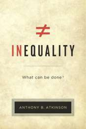 Mark Triffitt reviews 'Inequality' by Anthony B. Atkinson