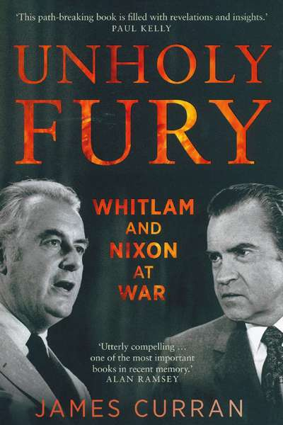 Billy Griffiths reviews 'Unholy Fury' by James Curran